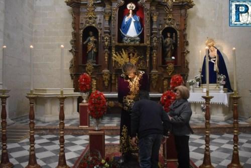 Los besapies del Miércoles de Ceniza desde el objetivo de Lucas Álvarez