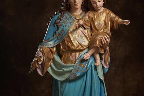Maria Auxiliadora regresa a Montealto tras su restauración