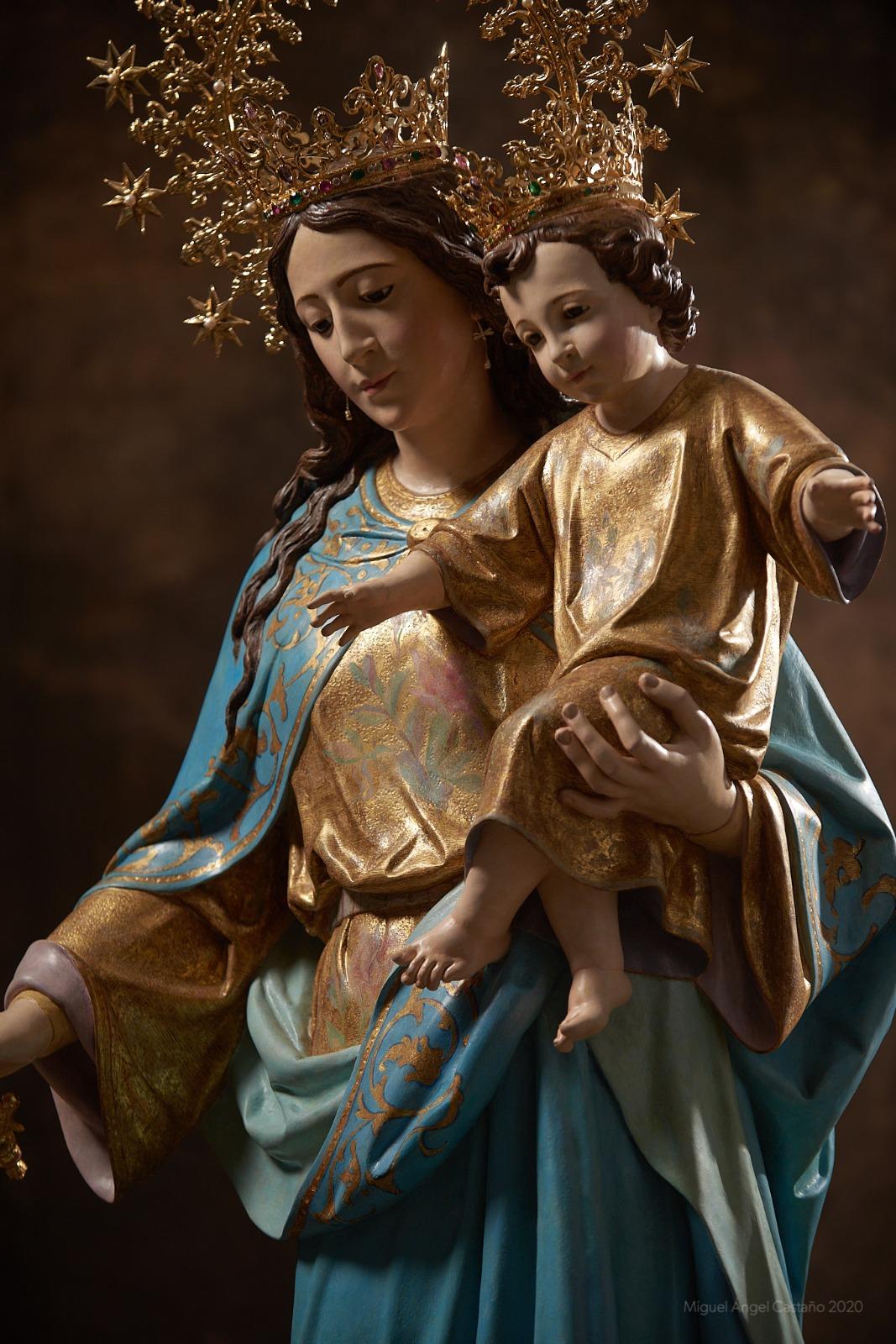 Veneración extraordinaria a María Auxiliadora en Jerez
