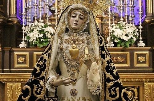 MARCHAS DE PALIO: «Monográfico dedicado a la Virgen de los Dolores»