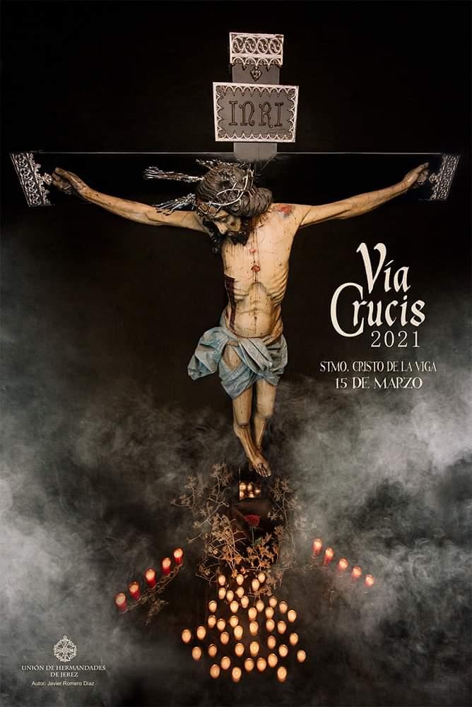 El Cristo de la Viga preside hoy en la Catedral el Vía Crucis de las Hermandades de Jerez