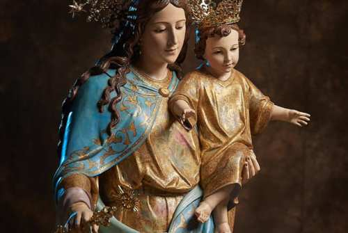 María Auxiliadora procesionará este viernes desde Montealto