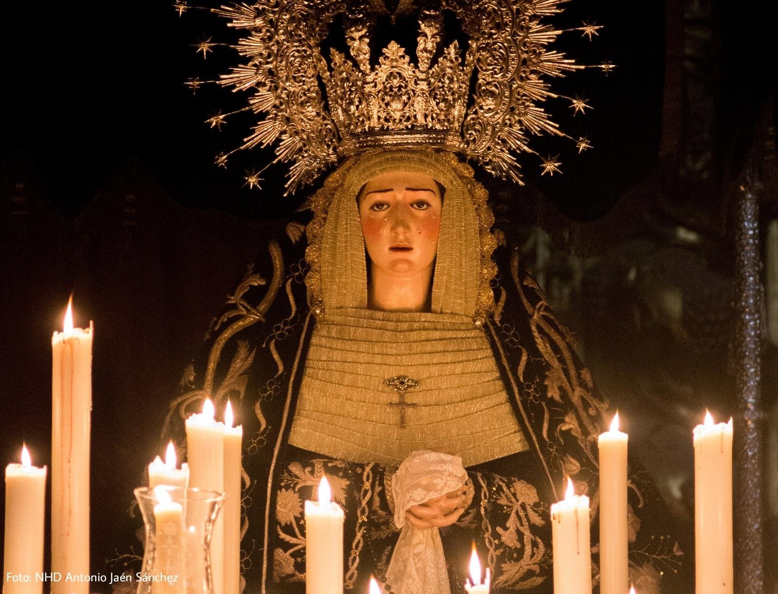 Jornada histórica junto a la Virgen de la Soledad en Arcos