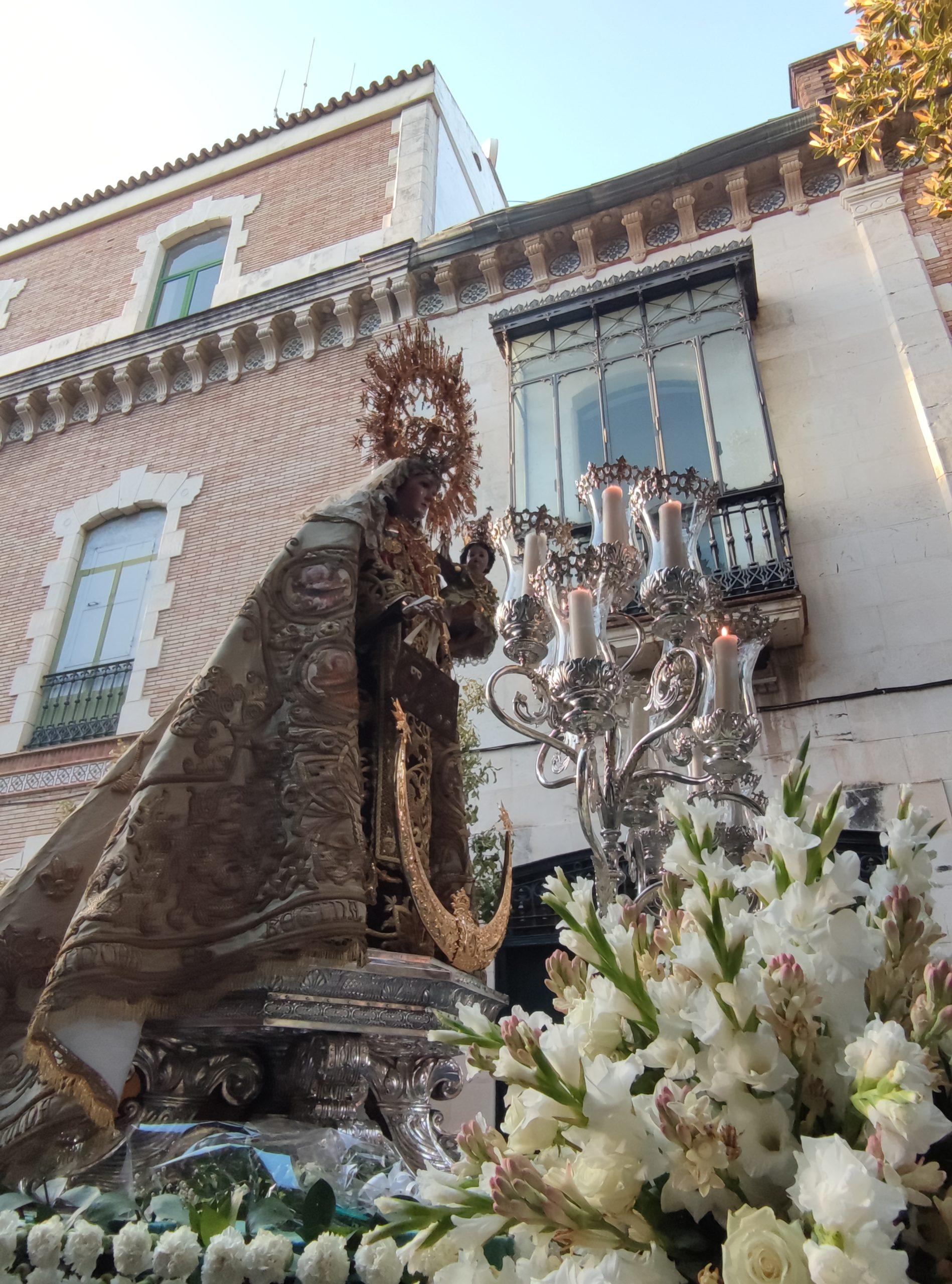 EN VIDEO: «Salida procesional de la Virgen del Carmen»