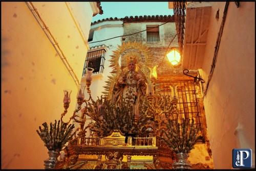 La Virgen de las Nieves recorrerá las calles de Arcos en procesión de rogativas
