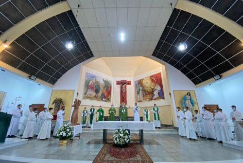 Primera misa como Obispo de Monseñor Rico Pavés