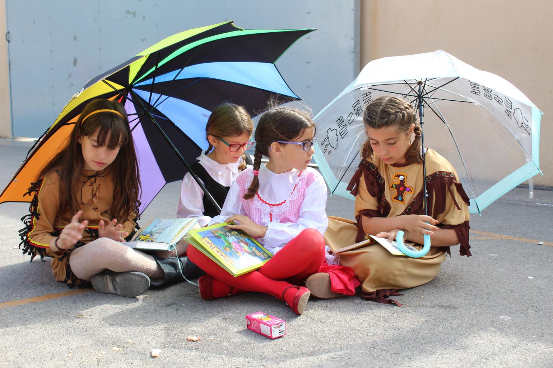 Cada uno escogió el libro que prefería