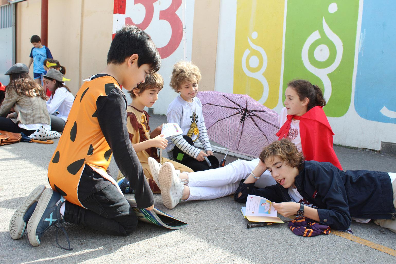 Los alumnos de 6º, grandes cuenta-cuentos
