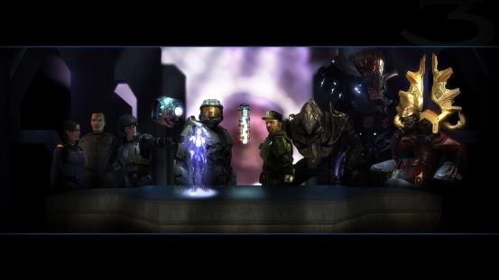 Halo Last Supper