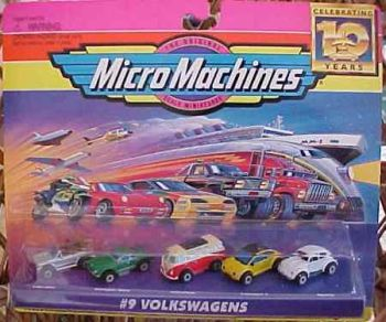 Micro machines toy