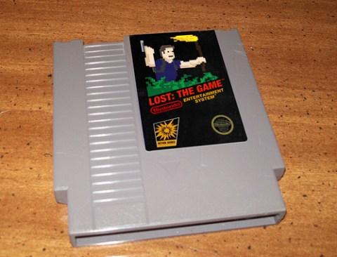 Videojuego de Lost para NES