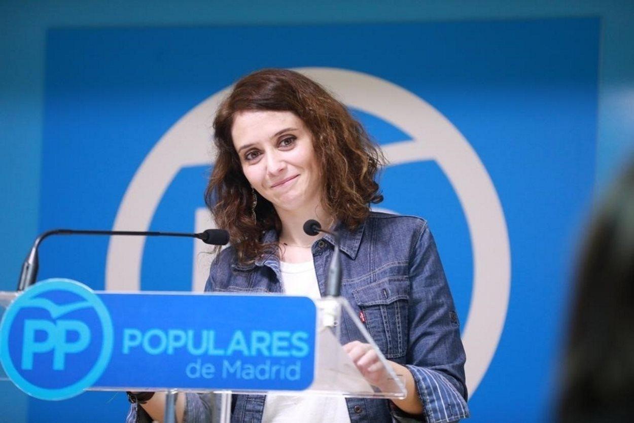 Díaz Ayuso, la candidata de Casado que asume el discurso de Vox sobre las mujeres