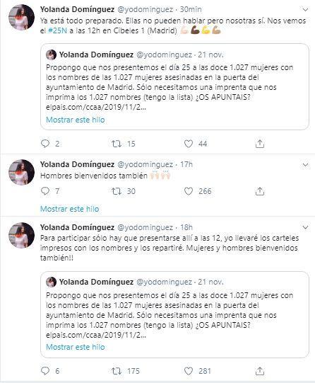 Tuits de Yolanda Rodríguez