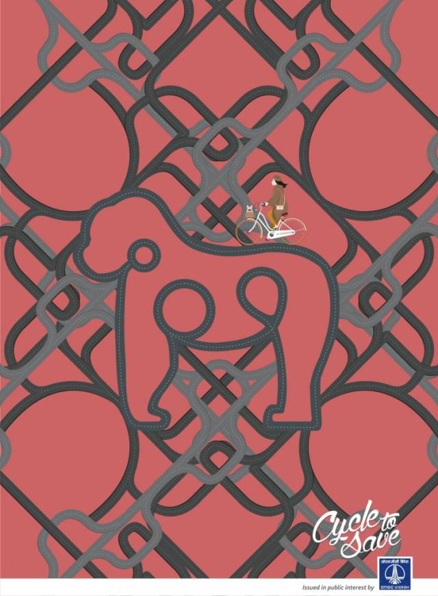 ongc-videsh-rhino-orangutan-penguin-polar-bear-print-374914-elpoderdelasideas