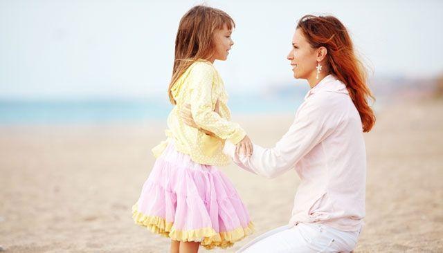 Hable más y más a menudo con sus hijos