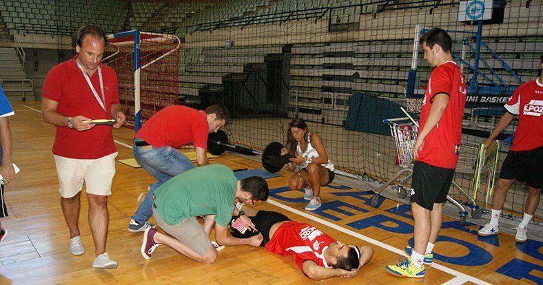 Los jugadores se someten a unos test físicos que determinan el perfil óptimo de cada deportista