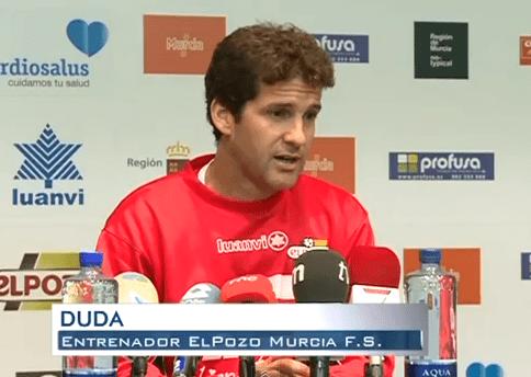 """Duda: """"El choque contra el Barça lo tomamos con optimismo"""""""