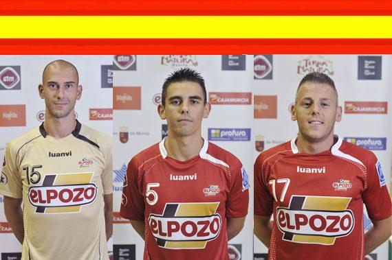El ciezano y canterano Álex y el guardameta Rafa llamados por la Selección Española