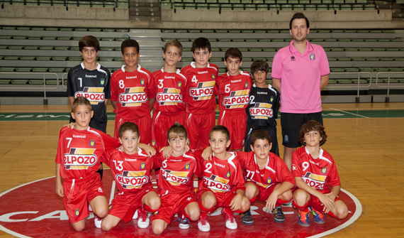 Crónica Alevin: Aljucer ElPozo FS 9-0 Futsal Librilla