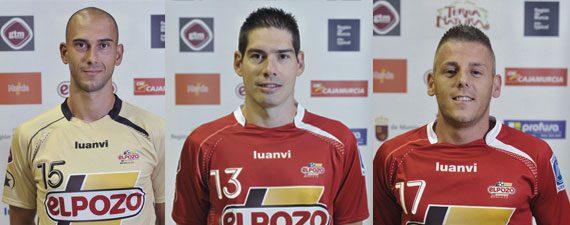Kike, Miguelín y Rafa jugarán con España la vuelta del Play Off de clasificación para el Mundial ante Eslovaquia