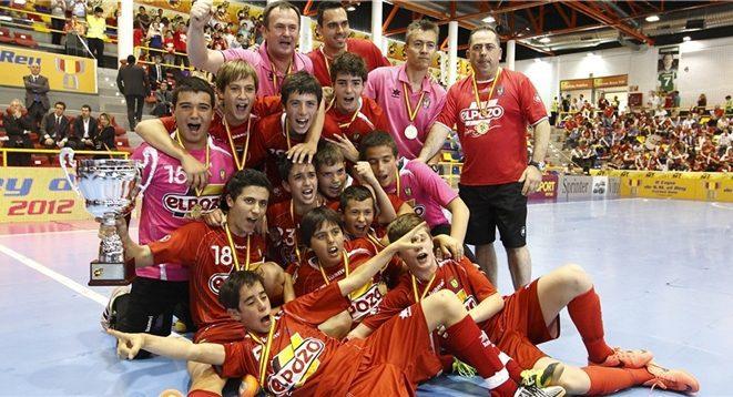 ElPozo Murcia Infantil gana la  Minicopa del Rey en los penaltis
