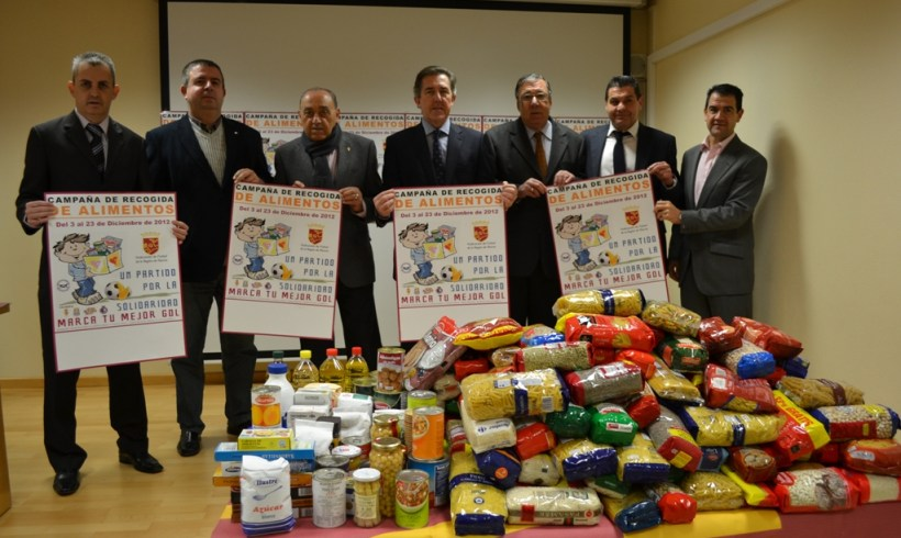ElPozo Murcia colabora con la FFRM para recoger cien mil kilos de alimentos no perecederos