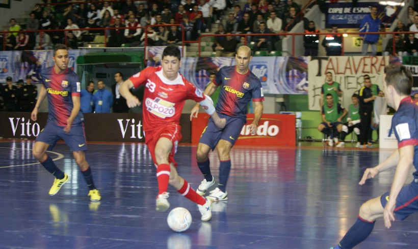Final Copa de España 2013. ElPozo Murcia FS – FC Barcelona Alusport