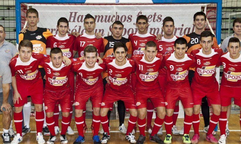 El equipo Juvenil Aljucer ElPozo FS se proclama Campeón de Liga por novena vez consecutiva