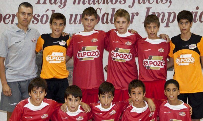 Aljucer ElPozo Infantil   Temporada 2012/13    ¡Enhorabuena por la temporada!