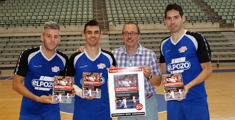 Kike, Miguelín y Álex te recomiendan el libro…'La táctica ofensiva en el futsal' de Antonio Luis Gallego
