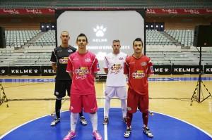 Nuevas equipaciones ElPozo Murcia FS 2013-14