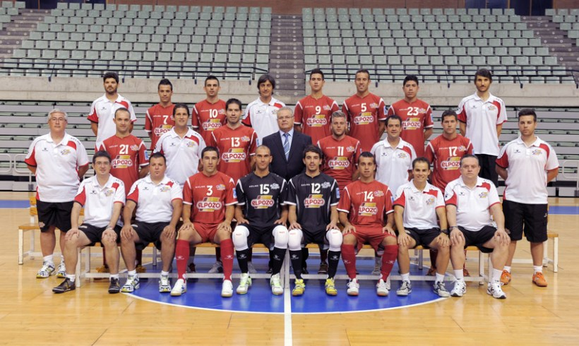La plantilla de ElPozo Murcia FS inicia hoy una mini-gira por Andalucía