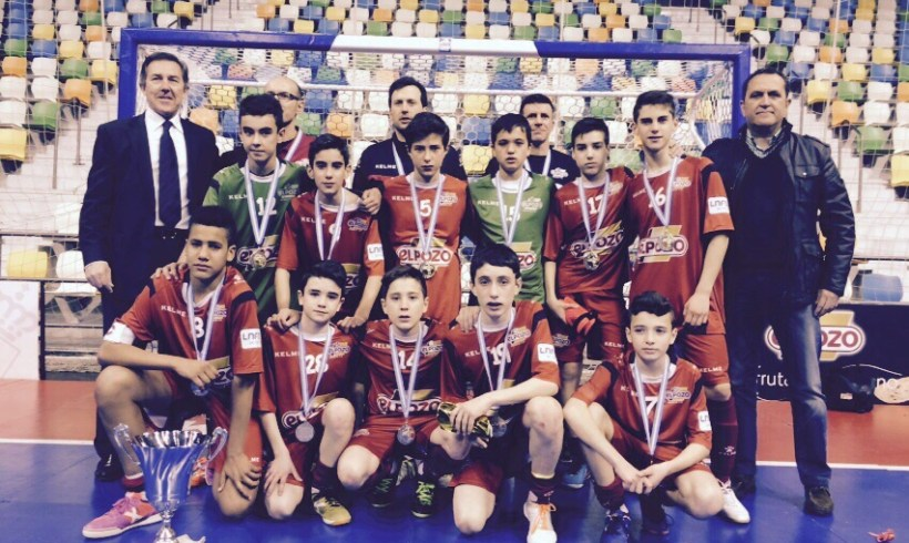 ElPozo FS Infantil, gran Subcampeón de la Minicopa