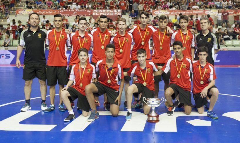 Homenaje a la Selección Infantil murciana- Campeones de España