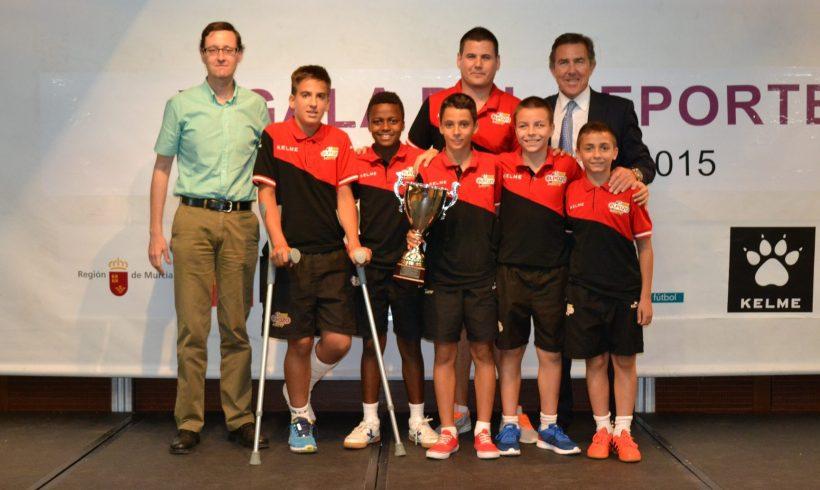 ElPozo Juvenil, Cadete, Alevín y Benjamín premiados en la X Gala de la FFRM