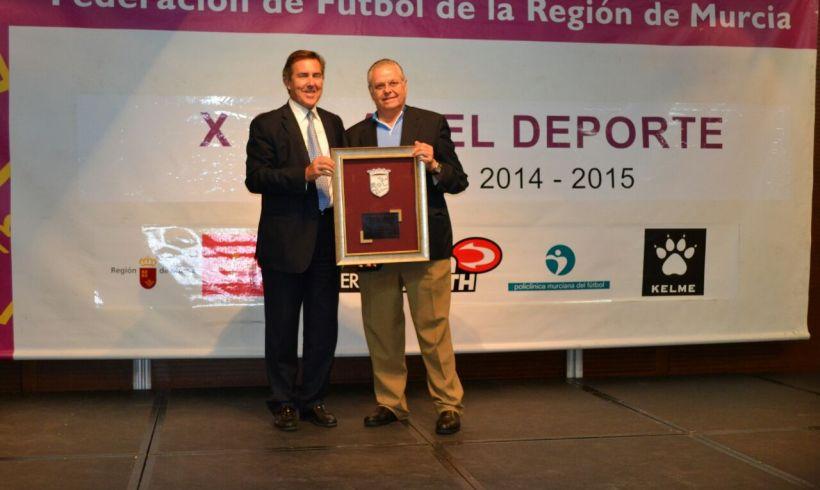 ElPozo Murcia FS, premiado en la X Gala de la FFRM
