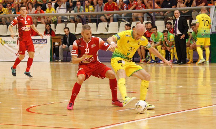 Crónica 3ª Jornada LNFS: Jaén 2-2 ElPozo Murcia FS