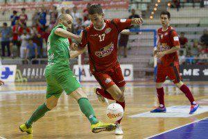 LNFS, Primera Division Futbol Sala España, 2º partido cuartos Play Off, entre El Pozo Murcia FS vs Magna Navarra, Palacio de los Deportes Murcia, 15-10-2015.