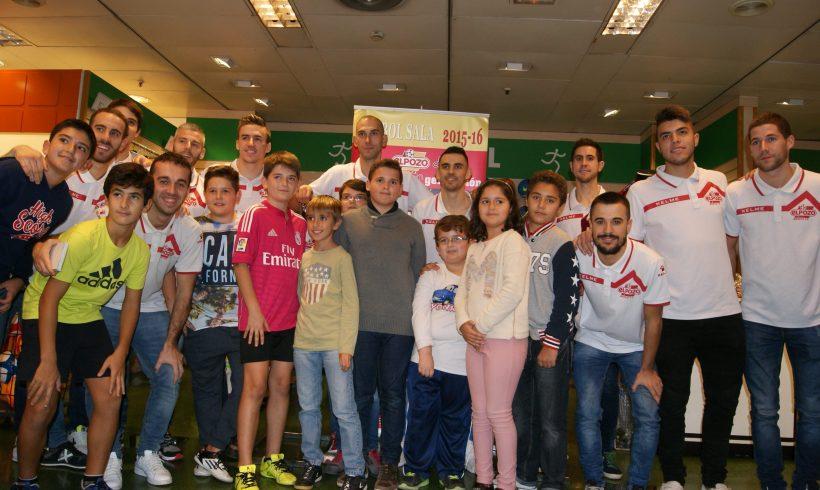 Galería|| Inauguración sección Deportes en El Corte Inglés Murcia