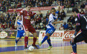 Murcia, 18-12-2015, LNFS, Campeonato de Liga Regular 1 Division Futbol Sala, encuentro etnre ElPozo Murcia vs Dlink Zaragoza, Palacio de los Deportes de Murcia, Jornada 15, Temporada 2015-2016.