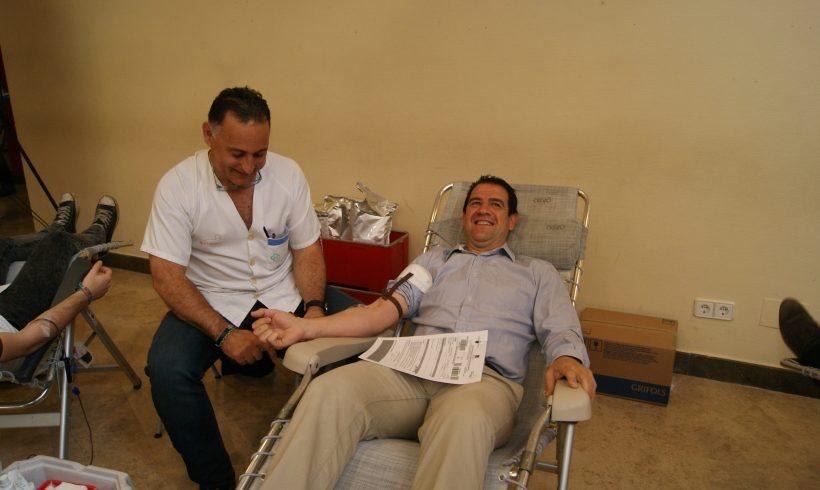 SOCIAL| ElPozo Murcia FS colabora y dona sangre en el cierre de campaña UMU