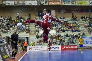 Murcia, 07-11-2015, LNFS, Primera Division Liga Futbol Sala, encuentro entre ElPozo Murcia vs FC Barcelona, Palacio de deportes de Murcia, Liga Regular Jornada 9, Temporada 2015-2016.