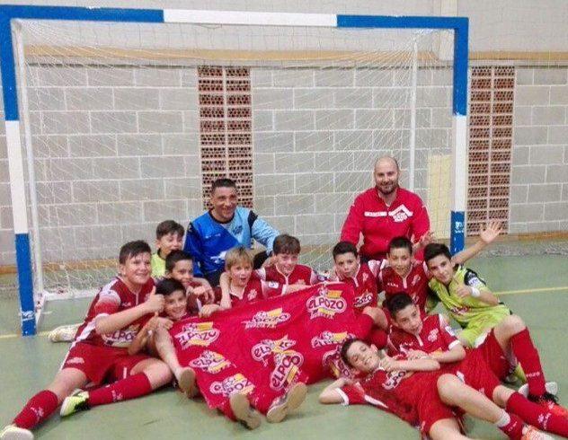 Alevín B| Concluye la Liga regular con victoria y Campeón del Grupo Primero