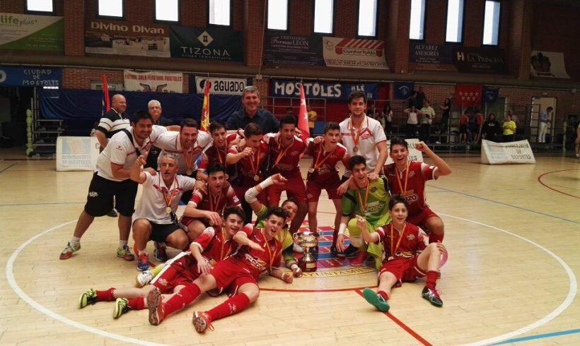 ¡El equipo Cadete Campeón de España 2016!