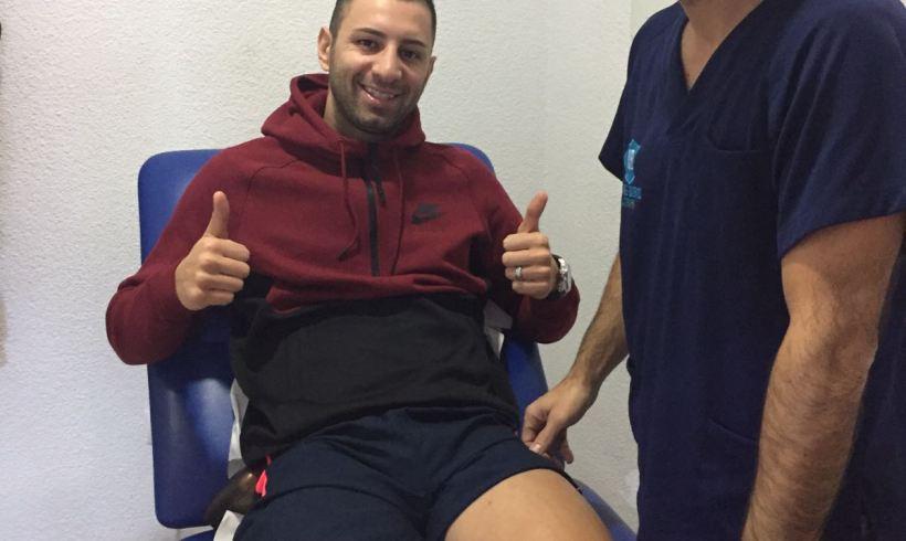 PARTE MÉDICO  Cardinal sufre un esguince del ligamento lateral interno de la rodilla izquierda