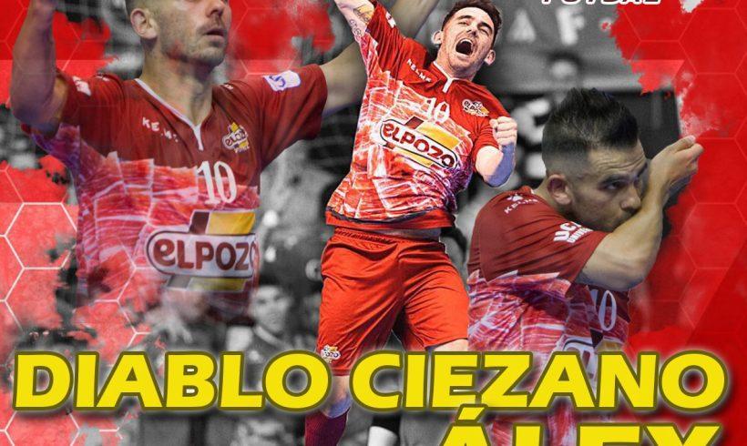 OFICIAL|El diablo ciezano Álex, patrimonio de ElPozo Murcia FS