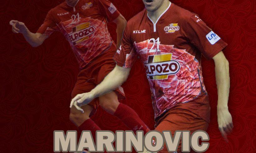 OFICIAL| El ala internacional Dário Marinovic, jugador de ElPozo Murcia hasta Junio de 2019