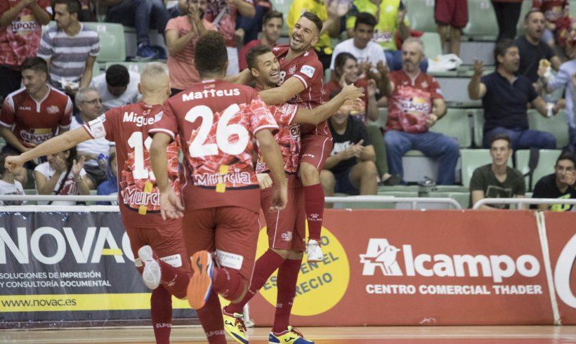 Crónica 3ª Jornada LNFS| ElPozo Murcia se alza con la victoria con un inmenso Andresito (8-1)