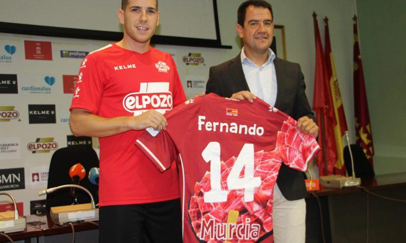 OFICIAL| El ala-pívot Fernando amplía su compromiso con el Club hasta Junio 2020
