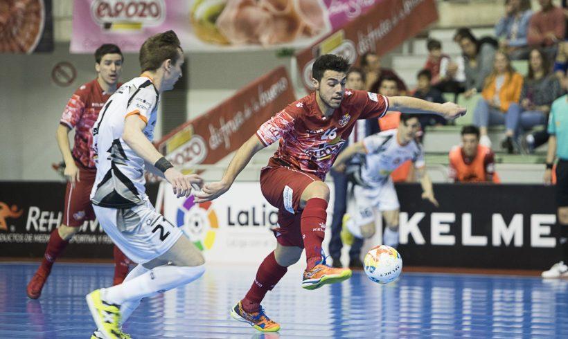 PREVIA Jª 6 LNFS  ElPozo Murcia vs Aspil Vidal 'Duelo de altura'